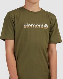 3 YOUTH HORIZONTAL SHORT SLEEVE TEE Green 383001 Element