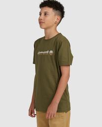 1 YOUTH HORIZONTAL SHORT SLEEVE TEE Green 383001 Element