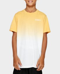 0 YOUTH DIPPER SS TEE Yellow 393002 Element