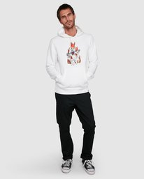 0 GHOSTBUSTERS INFERNO HOODIE White 502313 Element