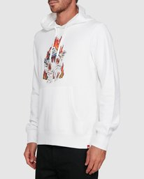 2 GHOSTBUSTERS INFERNO HOODIE White 502313 Element