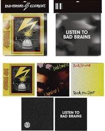 0 Bad Brains Album Sticker Pack Multicolor ACGT3BGP Element