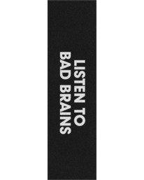 """1 Listen to Bad Brains 9"""" x 33"""" Grip Tape  ACGT3L2B Element"""