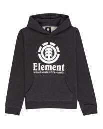 0 Boys' Vertical Hoodie Grey ALBFT00124 Element