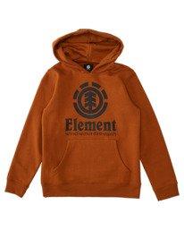 0 Boys' Vertical Hoodie Brown ALBFT00124 Element