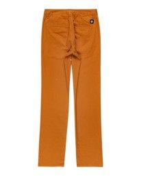 1 Boys' Howland Classic Chino Pants Brown ALBNP00104 Element