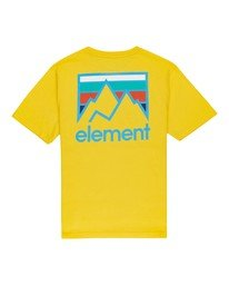 0 Boys' Joint T-Shirt Blue ALBZT00129 Element