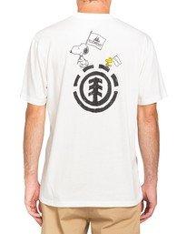 2 Youth Peanuts x Element Slide T-Shirt White ALBZT00133 Element