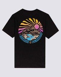 1 Boys' Balmore T-Shirt Blue ALBZT00136 Element