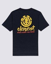 1 Boys' Henke T-Shirt Blue ALBZT00143 Element