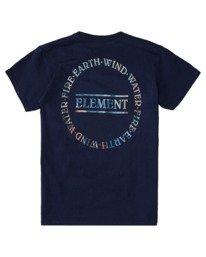 1 Boys' Questa Short Sleeve T-Shirt Blue ALBZT00153 Element