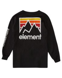1 Boys' Joint Long Sleeve T-Shirt Blue ALBZT00158 Element