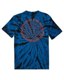 1 Boys' Drake Short Sleeve T-Shirt Blue ALBZT00159 Element