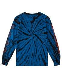 1 Boys' Drake Long Sleeve T-Shirt Blue ALBZT00160 Element