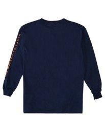 1 Boys' Dusky Long Sleeve T-Shirt Blue ALBZT00162 Element