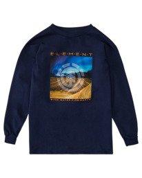 0 Boys' Dusky Long Sleeve T-Shirt  ALBZT00162 Element