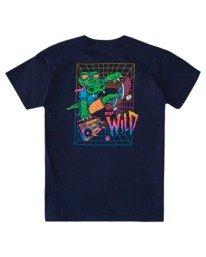 1 Boys' Wild Style Short Sleeve T-Shirt Blue ALBZT00166 Element
