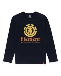 0 Boys' Vertical Long Sleeve T-Shirt  ALBZT00171 Element
