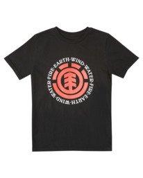 0 Boys' Seal Short Sleeve T-Shirt  ALBZT00175 Element