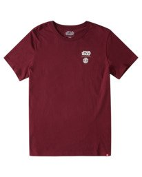 1 Women's Star Wars™ x Element Box T-Shirt Red ALJZT00142 Element