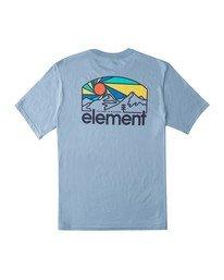 0 Sunnett T-Shirt Blue ALMZT00102 Element