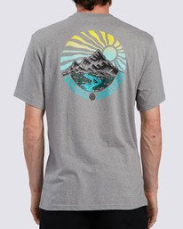1 Balmor T-Shirt Grey ALMZT00106 Element
