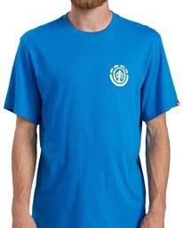 7 Balmor T-Shirt Blue ALMZT00106 Element