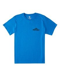 0 Duggar Chest T-Shirt Blue ALMZT00125 Element