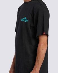 3 Duggar Chest T-Shirt Blue ALMZT00125 Element
