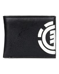 4 Daily Tri-Fold Wallet Blue ALYAA00105 Element