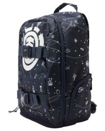 2 92 Galaxy Mohave 30L Large Skate Backpack White ALYBP00105 Element