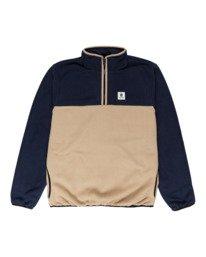 0 Abenaki Quarter-Zip Fleece Blue ALYFT00141 Element