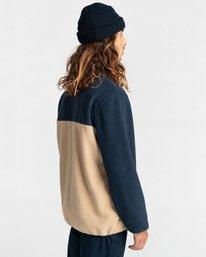 3 Abenaki Quarter-Zip Fleece Blue ALYFT00141 Element
