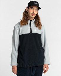 1 Abenaki Quarter-Zip Fleece Grey ALYFT00141 Element