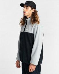 2 Abenaki Quarter-Zip Fleece Grey ALYFT00141 Element