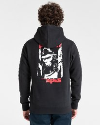 5 Planet of the Apes Surge Pullover Hoodie Blue ALYFT00152 Element