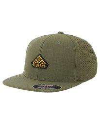 0 Sierra Stretch Flexfit Hat Green ALYHA00132 Element