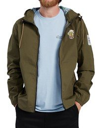 6 Peanuts x Element Alder Jacket Beige ALYJK00109 Element