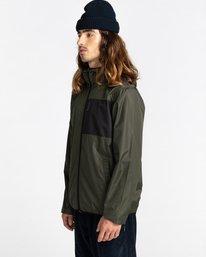 2 Alder Fundamental Jacket Green ALYJK00136 Element