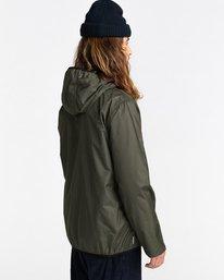 3 Alder Fundamental Jacket Green ALYJK00136 Element