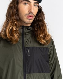 5 Alder Fundamental Jacket Green ALYJK00136 Element