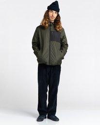 6 Alder Fundamental Jacket Green ALYJK00136 Element