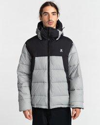 1 Dulcey Puff Contrast Jacket Grey ALYJK00137 Element