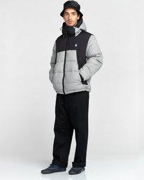 9 Dulcey Puff Contrast Jacket Grey ALYJK00137 Element