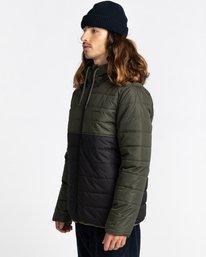 2 Alder Puff Fundamental Jacket Green ALYJK00138 Element