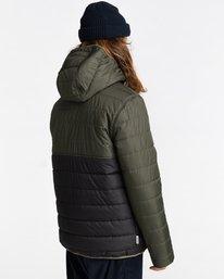 3 Alder Puff Fundamental Jacket Green ALYJK00138 Element