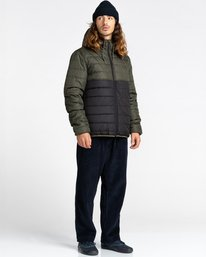 5 Alder Puff Fundamental Jacket Green ALYJK00138 Element