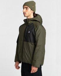 2 Wolfe Jacket Green ALYJK00151 Element