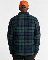 9 Lodge Flannel Shirt Black ALYJK00155 Element
