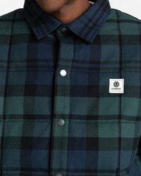 5 Lodge Flannel Shirt Black ALYJK00155 Element